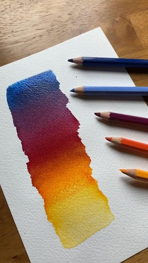 Just another way to watercolor paint.