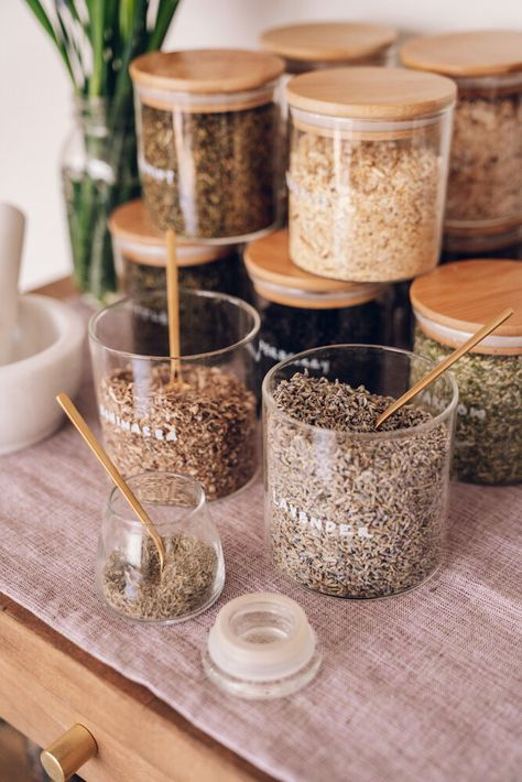 Want to create a home herbal apothecary for holistic health and wellness? We are breaking down the top 10 must have herbs a herbalist and integrative dietitian swears by for your home herbal apothecary. Healing Herbs, Holistic Healing, Natural Healing, Holistic Wellness, Medicinal Herbs, Herbal Remedies, Health Remedies, Home Remedies, Natural Medicine