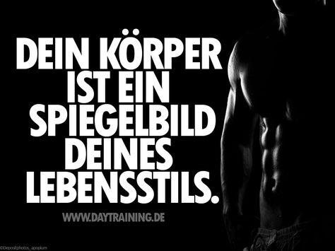 Dein #Koerper ist ein #Spiegelbild Deines #Lebenstils. www.daytraining.de…