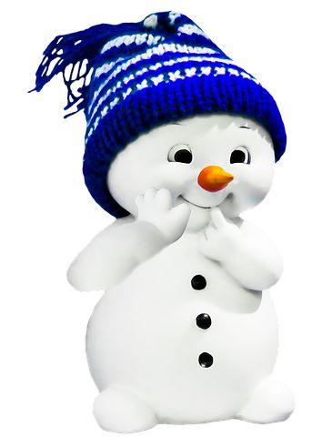 Snowman, Winter, Figure, Lucky Charm