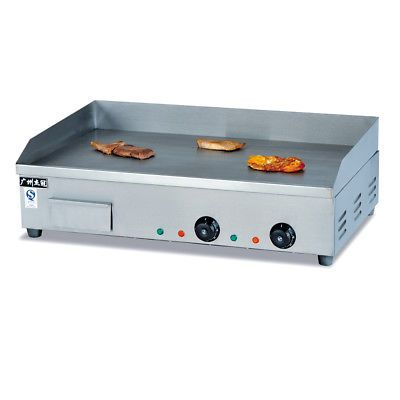Ad Ebay Electric Countertop Griddle 4400w Hot Plate Commercial