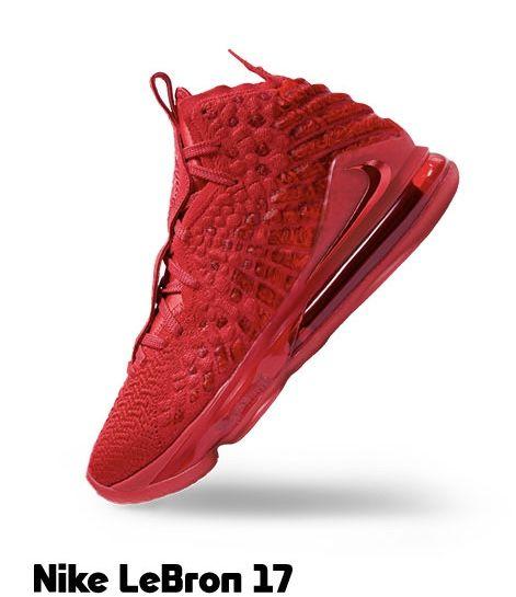 Lebron 17, Red nike, Custom sneakers nike