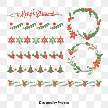Christmas Pattern Border Dividing L Png And Psd In 2020 Christmas Pattern Christmas Border Scandinavian Pattern