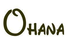 Ohana Tattoo Schriftarten Dieses Ohana Tattoo Wurde Mit Unserem Einzigartigen Service Erstellt Tat Dieses Ohan Tattoo Schriftarten Schriftarten Ohana