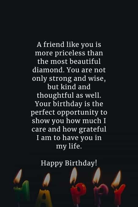 Birthday Wishes For A Friend Friendship In 2021 Happy Birthday Wishes Quotes Birthday Wishes For A Friend Messages Birthday Wishes For Friend