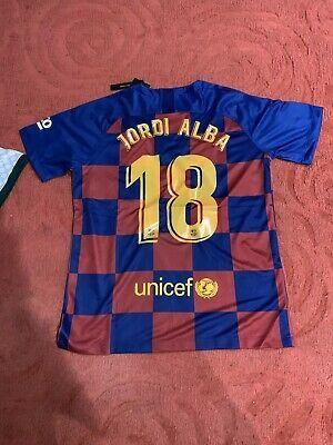Ad Ebay Link Jordi Alba Home Jersey Barcelona 2019 2020 In 2020