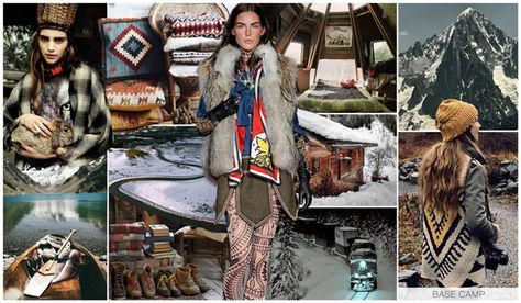 Base Camp women's denim story f/w 16/15 mood board