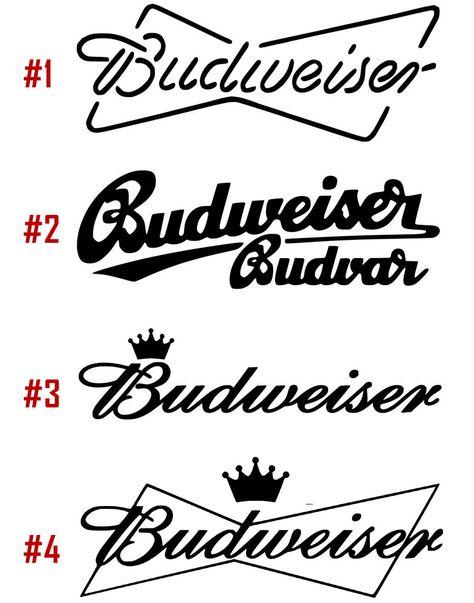 car Budweiser B Logo Die Cut vinyl decal laptop sticker truck window
