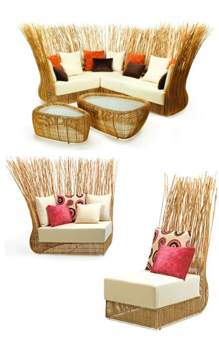 Yoda Sofa, Kenneth Cobonpue Furniture Design Pinterest - balou rattan mobel kenneth cobonpue