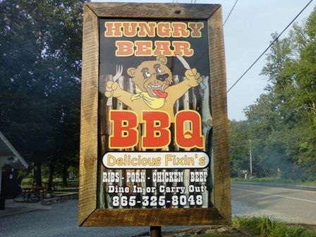 Hungry Bear BBQ   Locally Owned And Operated, We Are In The Heart Of The  Great Smoky Mountains. We Are Just Seven Minutes From Downtown Gatlinburg.