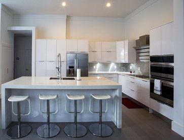 7 best Modern White Kitchens images on Pinterest | Modern white ...