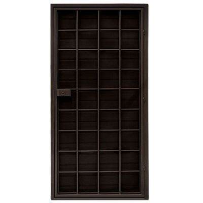 puerta de acero duplex chocolate 96 x