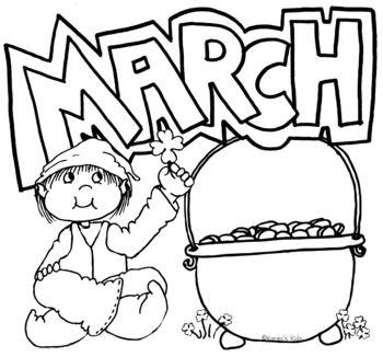 Free Clip Art For March By Karen S Kids School Room Tpt School Room Free Clip Art Clip Art Freebies
