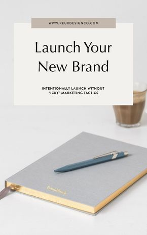 """How To Launch Your Brand Without Feeling """"Icky"""" or """"Salesy"""" - Blog 