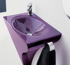 Purple sink
