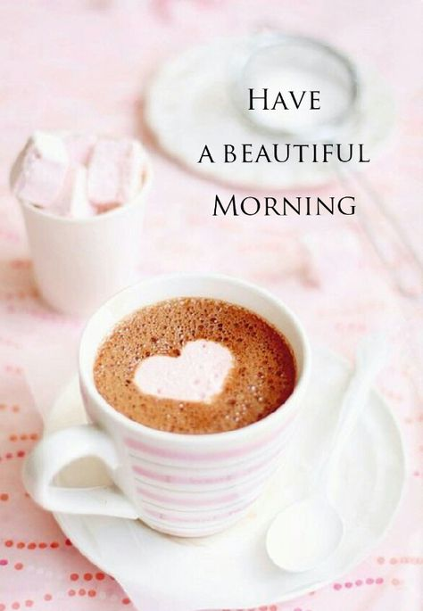 Buenos días!, ten una bonita mañana...