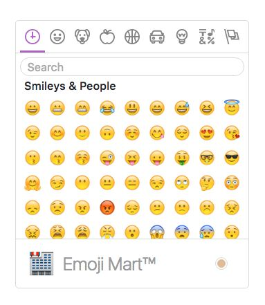 Picking emoticons with the Emoji Mart Vue component   programming