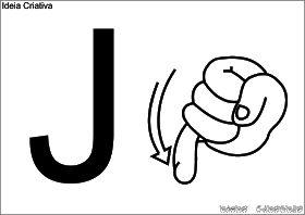 Alfabeto De Parede Em Libras Para Imprimir Libra Letras Em