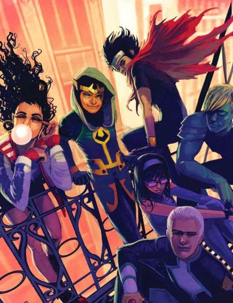Young Avengers Replace Captain Marvel, Spiderman And Dr. Strange In MCU Phase 4