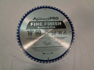 Sponsored Link New Avanti Pro P1060x 10 254mm 60 Carbide Teeth Fine Finish 5 8 Arbor Blade In 2020 Fine Finish Workshop Equipment Circular Saw Blades