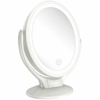 Advertisement 7x Magnified Led Lighted Makeup Mirror Two Sided Light Up Illuminated Makeup Makeup Mirror Makeup Mirror With Lights Makeup Vanity Mirror