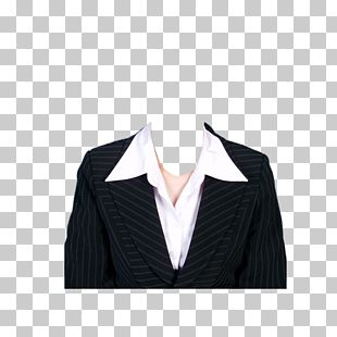 Traje Ropa De Plantilla Formal Hombre De Negocios Raya Negra Y Blanca Con Cuello Blazer Png Clipart Free Download Photoshop Free Photoshop Psd Free Photoshop