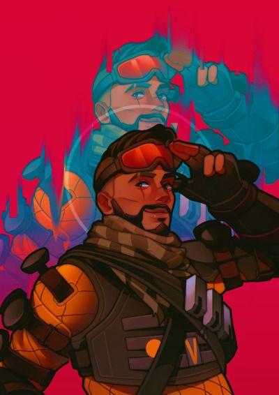 Mirage Apex Legends Art