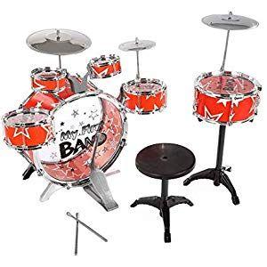 6Pcs//Set Baby Boy Girl Drum Musical Instruments Drum Set Children Toys Gift