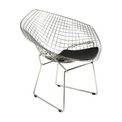Plata Import Accent Chair Mc 022 Wire Diamond Chair Bertoia