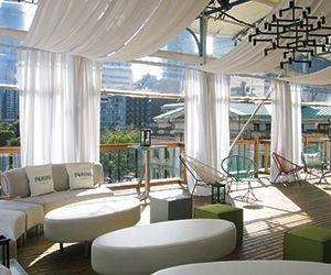 Vancouver Wedding Venues Art Gallery Rooftop Pavillion