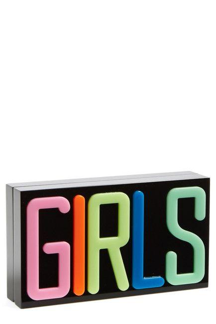 L O V E || girls clutch purse