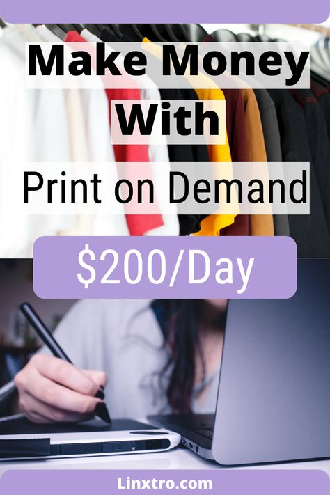 Make Money With Print on Demand - Step by step
