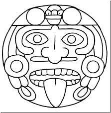 Resultado De Imagen De Dibujos Incas Para Colorear Aztecas Dibujos Figuras Mayas Simbolos Mayas