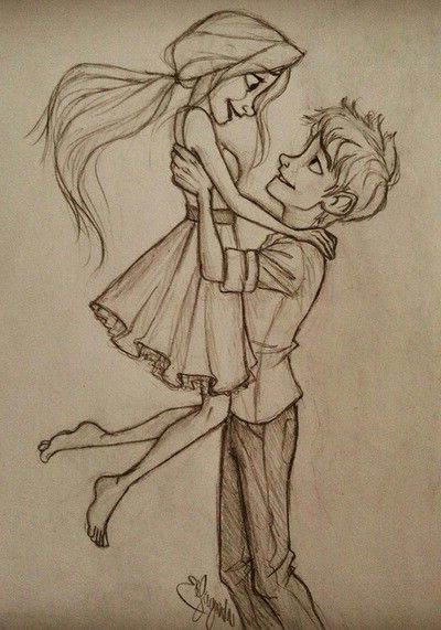 35 Easy Drawing Ideas - Pencil Drawing Images of Love, , Drawings