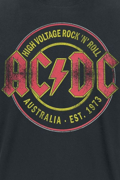 High Voltage - Rock 'N' Roll - Australia Est. 1973 | AC/DC Camiseta | EMP