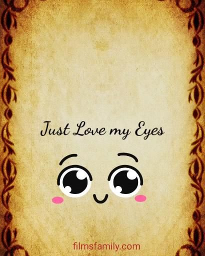 If you wanna love me... At first love my eyes #LoveQuotes #Quotes #Love #Quote
