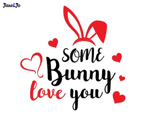 """""""Some Bunny Love You SVG, Bunny SVG ,Bunny Silhouette,rabbit Vector,rabbit svg,Easter svg,Cut File,Die Cuts,svg Easter,Circut,Clipart DXF Eps * * * * * * * * * * * * * * * * * * * * * * BUY 2, GET 1 FREE! Purchase any 2 items and get a 3rd item of equal or lesser value free! Add all three items to your cart and use coupon code BUYME to redeem your offer. Please make sure that the discount has been applied before you proceed with your payment. Add three items to your cart and don't miss our coupo"""