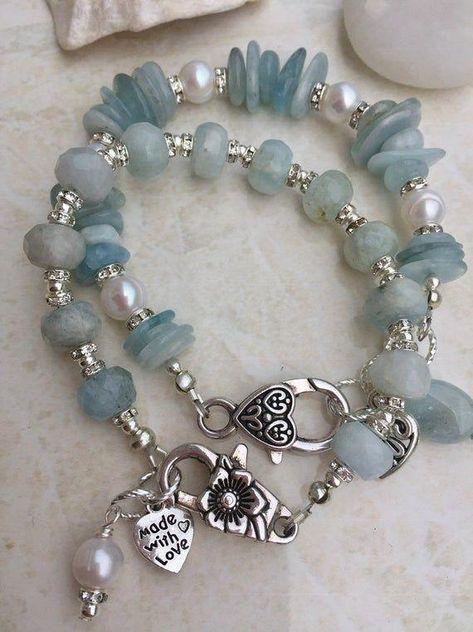 Argent sterling 925 chaîne et découpe Laser Rose Opal Beads Bracelet-Votre Taille