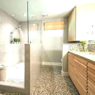 Image Result For Walk In Showers With Half Wall And Bench Half Wall Shower Half Walls Bathroom Remodel Small Shower
