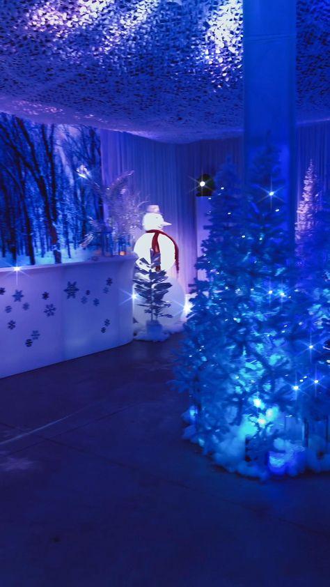 Winter Wonderland Wedding Theme, Winter Wonderland Christmas Party, Winter Wonderland Decorations, Wonderland Events, Winter Themed Wedding, Winter Party Themes, Winter Party Decorations, Christmas Decorations, Quinceanera Decorations