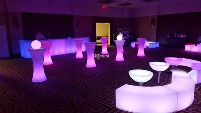 Glowmi Summer Rental Package Led Glow Furniture Rental Gold Package Led Furniture Furniture Led Decor