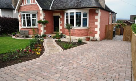 Best Images About PAVING IDEAS On Pinterest Driveways Front - Front garden with driveway design