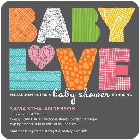 Fabricated Love: Charcoal invite