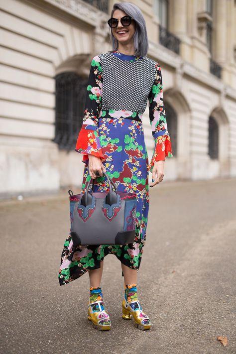 The Best Street Style At Paris Fashion Week ellemag