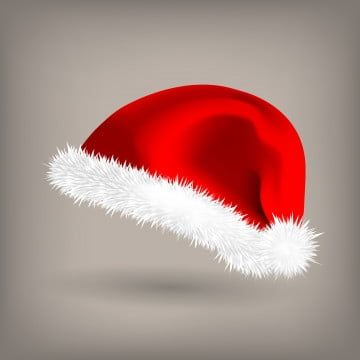 Red Santa Hat Vector Snow Clothing Celebration Object Seasonal Accessory Santa Claus Holiday Red And White Cap Christmas Design Isolated Realistic Illustration In 2020 Santa Hat Vector Christmas Design Red Christmas Background