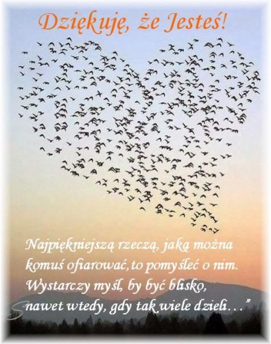 Kartka Pod Tytulem Wystarczy Mysl By Byc Blisko Birthday Quotes Friendship Quotes Motto
