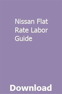 Nissan Flat Rate Labor Guide   zielomtoli   Bikini body