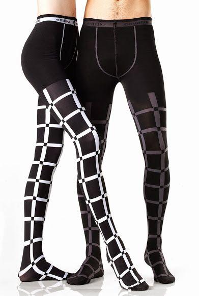 f1bde779aaa90 EMILIO CAVALLINI HORIZONTAL STRIPES OPAQUE TIGHTS   legs   Women's leggings,  Opaque tights, Mens tights