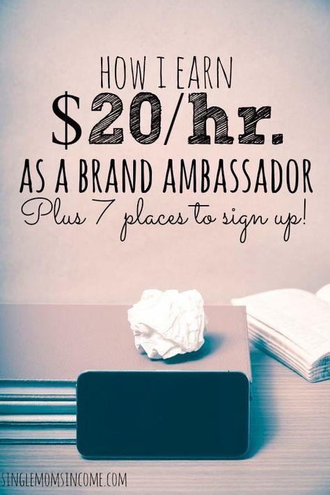 How I Earn $20/hr as a Brand Ambassador