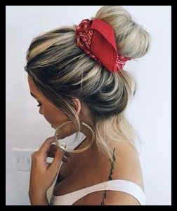 Bandana Hairstyles With Hair Down Lovely Cute Headbands For Women Lady Trendy Scarf Hairstyles Headband Hairstyles Bandana Hairstyles